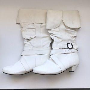 NWT White Aldo Heels